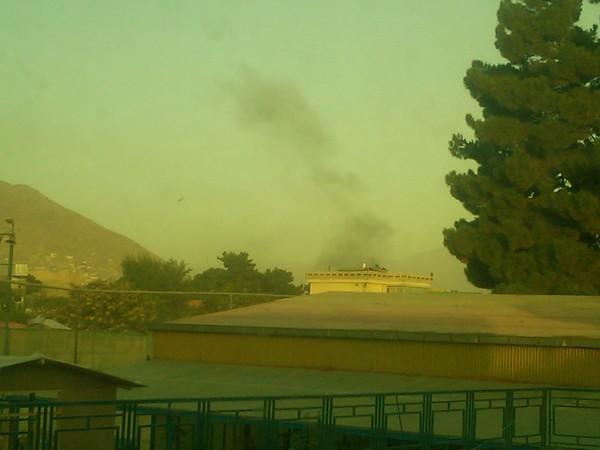 Smoke Explosion Afghanistn Kabul 18 August 2011 Rachel Lipsey.jpg