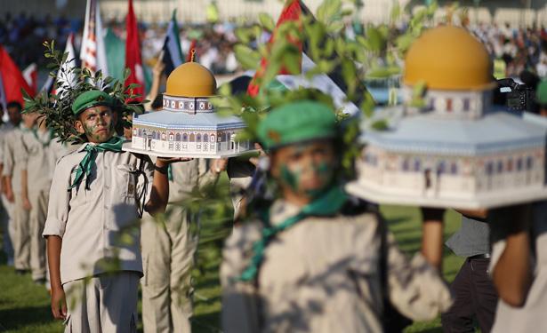Hamas boy scouts banner.jpg