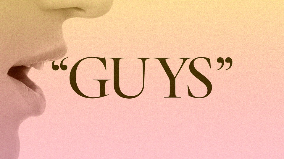 """An image of someone saying the word """"guys"""""""