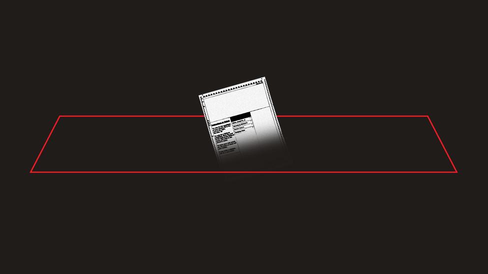 An illustration of a ballot