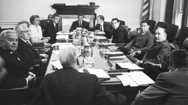 The Kerner Commission meeting in 1967.