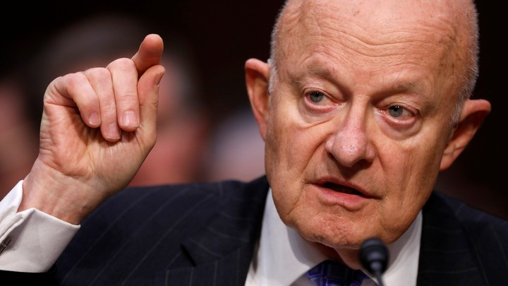 Former Director of National Intelligence James Clapper