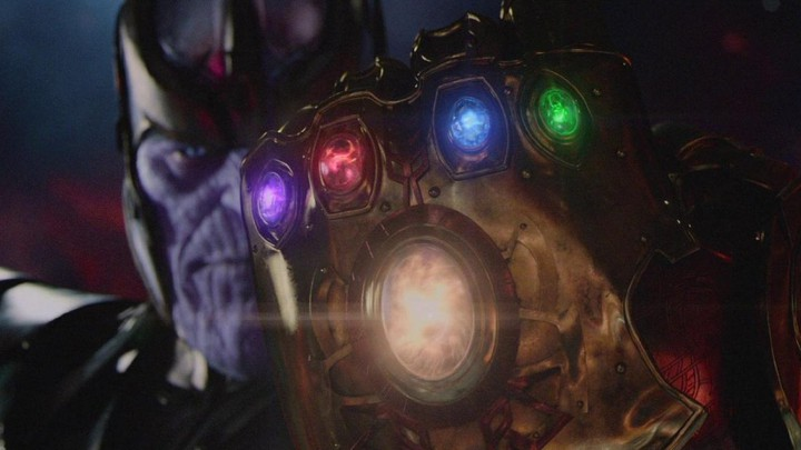 A still of Thanos (Josh Brolin), the chief villain of the Marvel Cinematic Universe