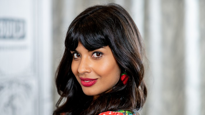 A photo of Jameela Jamil in New York City on October 2
