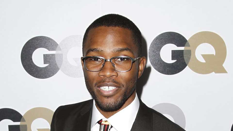 Frank Ocean in 2011 at the GQ 'Men of the Year' party