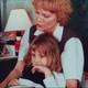 Mia Farrow reads to Ronan and Dylan Farrow