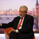 Jeremy Corbyn speaks on the BBC's Andrew Marr Show