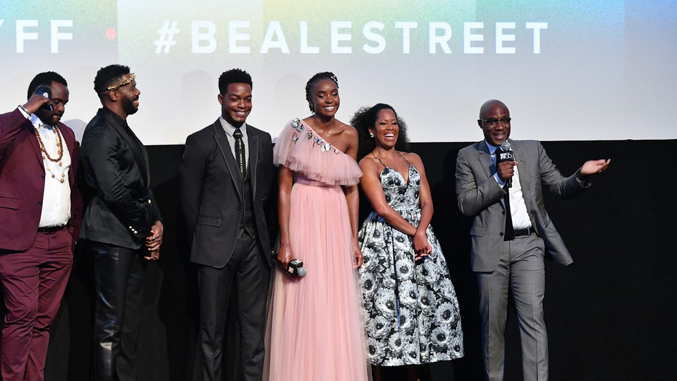 As a part of the 56th annual New York Film Festival, the filmmaker Barry Jenkins brought his latest movie, an adaptation of James Baldwin's novel, to Harlem's historic Apollo Theater.