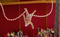 John Dillermand at the circus