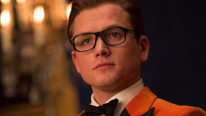 Taron Egerton in 'Kingsman: The Golden Circle'