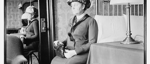 photo: Hull-House founder Jane Addams in 1900.