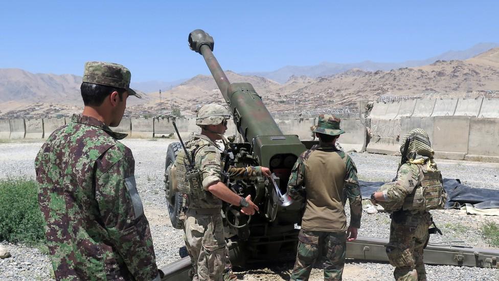 U.S. soldiers in Afghanistan