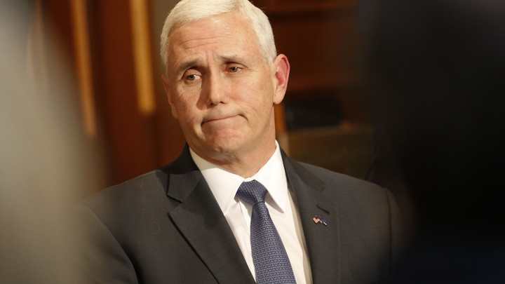 Vice president-elect Mike Pence