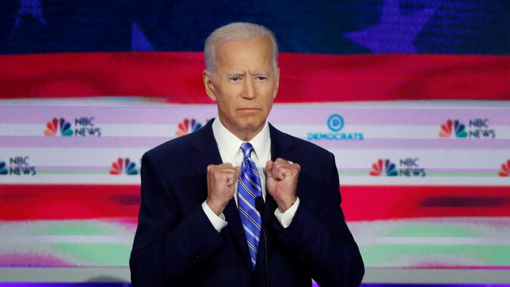 Joe Biden during the June 27 debate