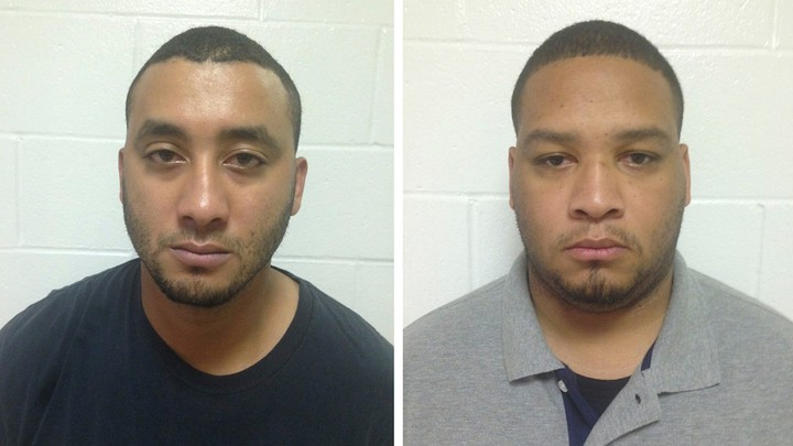 2015A combination photo of Marksville City Police Marshalls Norris Greenhouse (L) and Derrick Stafford are shown in these booking photos provided by Louisiana State Police in New Orleans, Louisiana, November 7, 2015.