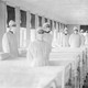The influenza ward of the U.S. Naval Hospital on Mare Island, California, 1918