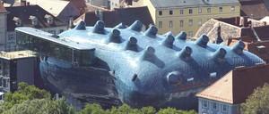 The Kunsthaus in Graz, Austria.
