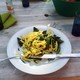 Pasta with CRISPR-edited cabbage