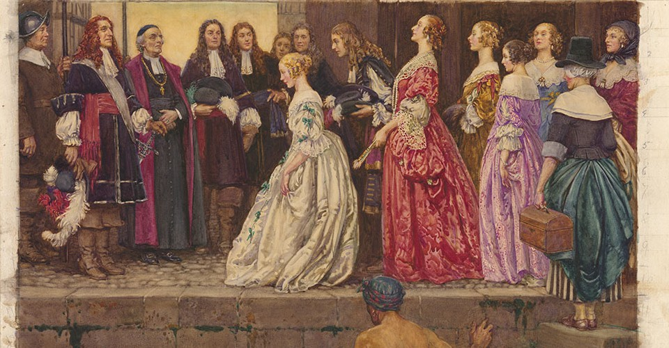 How A Fille Du Roi Brought The Mother S Curse To Canada The