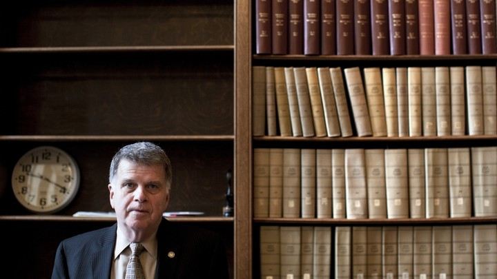 David S. Ferriero, archivist of the United States, in the reading room at the National Archives.