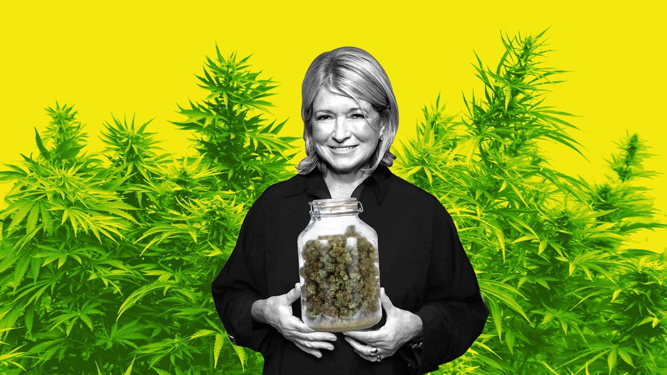 Martha Stewart and marijuana