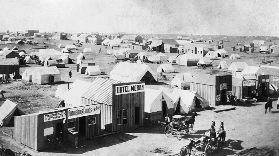 "The ""Cherokee Strip"" in Oklahoma Territory, 1893"