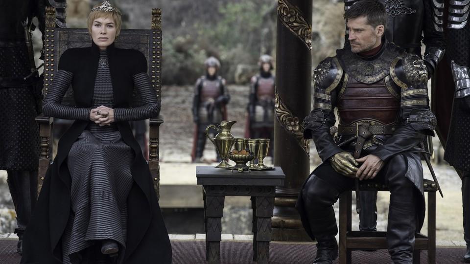 Lena Headey and Nikolaj Coster-Waldau in 'Game of Thrones'