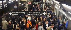 Two New York City subway cars derailed on the A line in Harlem Tuesday, another reminder of the MTA's many problems.
