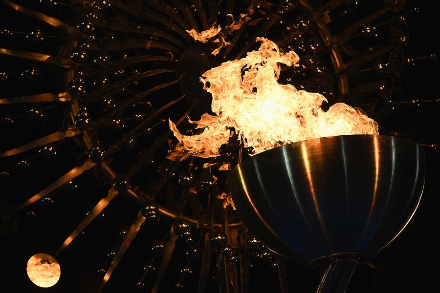 Photos of the Rio 2016 Olympics Opening Ceremony - The ...
