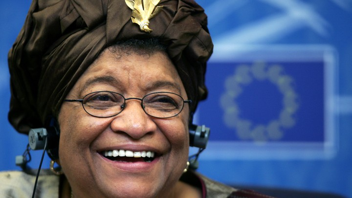 President Ellen Johnson-Sirleaf of the Republic of Liberia