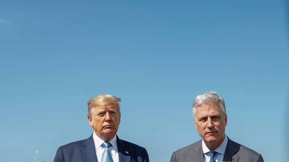 Donald Trump and Robert O'Brien
