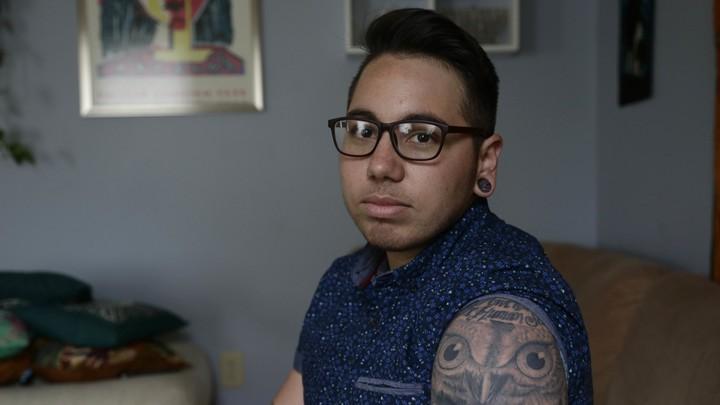 Joaquín Carcaño, a transgender man, is a plaintiff in a lawsuit challenging HB2.