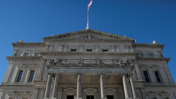 The Michigan capitol building