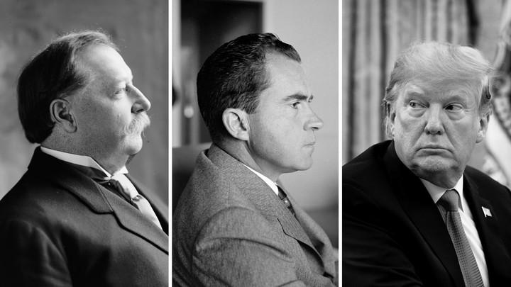 William Taft, Richard Nixon, and Donald Trump
