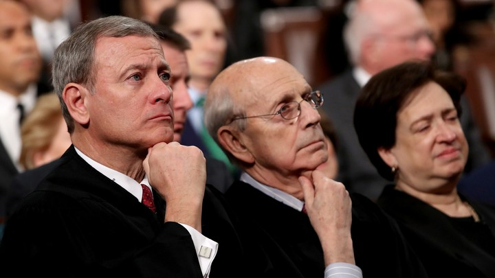 John Roberts, Stephen Breyer, and Elena Kagan