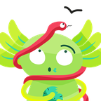 The winning emoji pack features an axolotl wrapped in a snake and holding a cactus, a reference to Mexico City's founding myth.