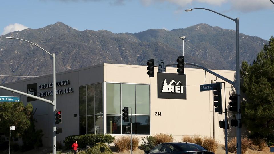 An REI store