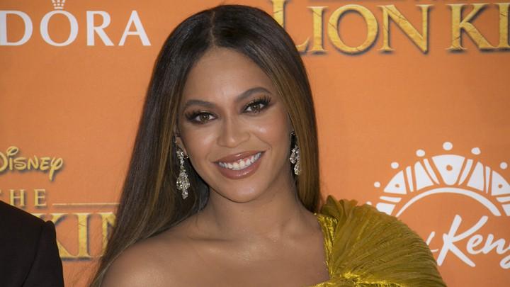 Beyoncé at the Lion King's U.K. premiere