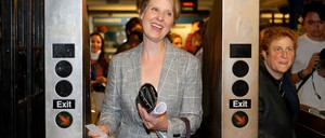 Cynthia Nixon is pictured.