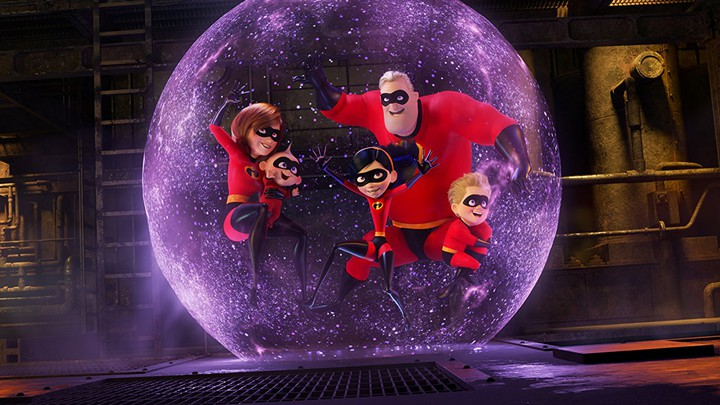 A still from 'Incredibles 2'