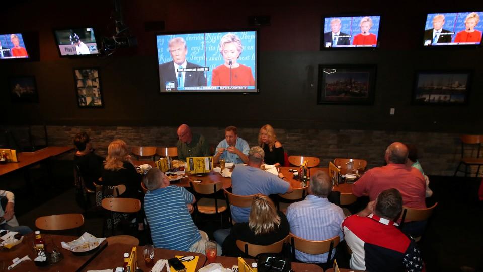 Americans watch TV.