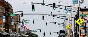 A photo of Newark, New Jersy.