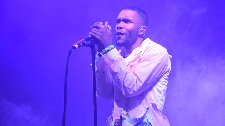 Frank Ocean performing at the Bonnaroo Music & Arts Festival in June 2014