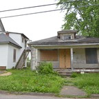 Vacant homes in Huntington, West Virginia.