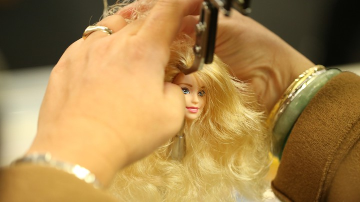 A still from 'Tiny Shoulders: Rethinking Barbie'