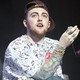 Mac Miller performs at Susquehanna Bank Center, in Camden, New Jersey, on August 3, 2012.