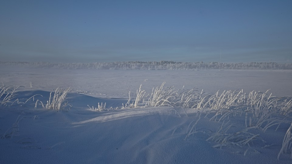 The edge of the Arctic Circle in Finland