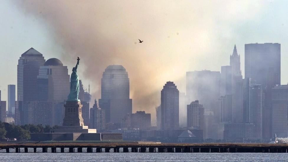 New York City on September 12, 2001