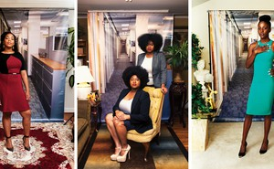 """3 photographs from Endia Beal's series """"Am I What You're Looking For?"""""""