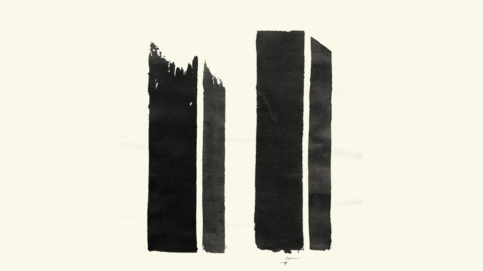 An illustration depicting the World Trade Center towers